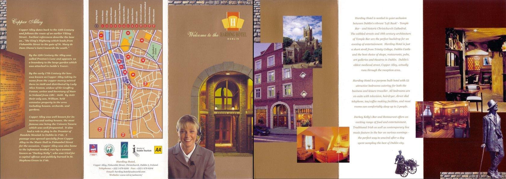 Harding Hotel Brochure Click